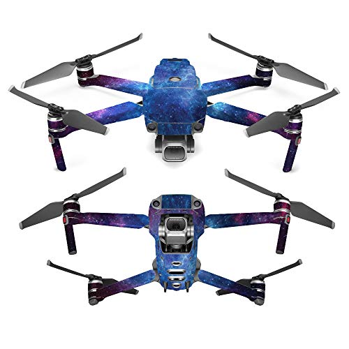 Price comparison product image MightySkins Skin for DJI Mavic 2 Pro or Zoom - Nebula / Protective,  Durable,  and Unique Vinyl Decal wrap Cover / Easy to Apply,  Remove,  and Change Styles / Made in The USA