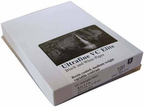 Ultrafine VC ELITE Pearl Variable Contrast RC Paper 5 x 7//100 Sheets