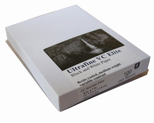 Ultrafine VC ELITE Pearl Variable Contrast RC Paper 5 x 7 / 100 Sheets by Ultrafine