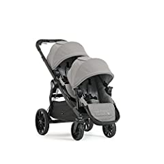 The City Select LUX convertible stroller, with second seat kit, goes from a single to double, so your growing family is always ready for any adventure. It has the most riding options of any single to double stroller, with over 20 configuratio...