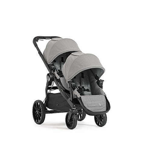Baby Jogger City Select LUX Double Stroller | Includes Second Seat | Double Baby Stroller with All-Terrain Tires |...