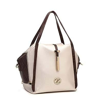 Zeneve London Selena tote bag for women 118T1-3-Gold