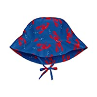 i play. Baby Bucket Sun Protection Hat, Royal Blue Lobster, 0-6 Months