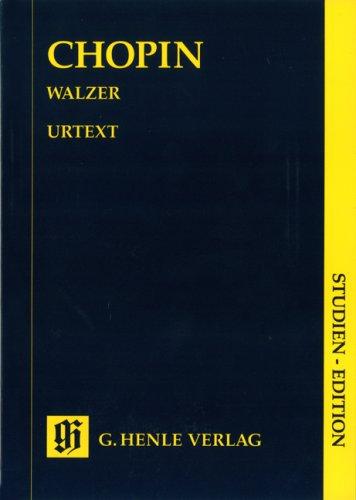 Walzer. Klavier Taschenbuch – 1. Februar 1995 Ewald Zimmermann Frédéric Chopin Henle G. Verlag