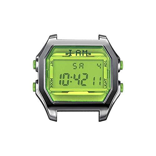 bene fuori x il più grande sconto Super sconto Sespo di Valespo orologio I AM cassa digitale fondo verde ...