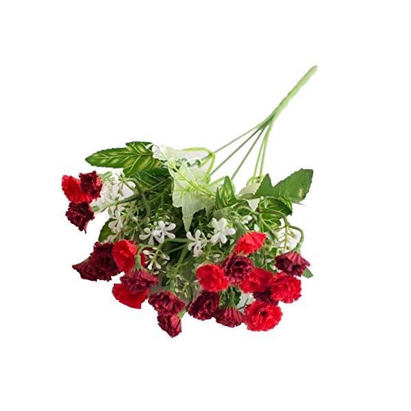 MARJON FlowersArtificial Flowers, 1 Bouquet 25 Heads Lilac Artificial Flower Plant Wedding Centerpieces for Home Garden Party Wedding Decoration