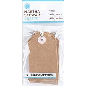 Martha Stewart Crafts Kraft Tags