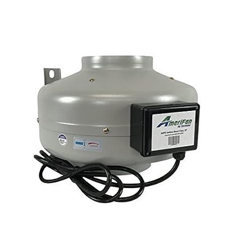 AmeriFan AIF6 Duct Booster Exhaust Fan, 460 CFM, 6