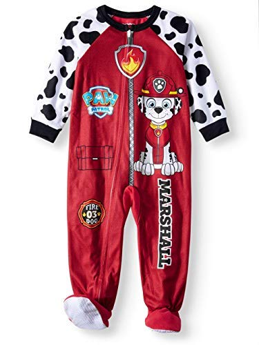Paw Patrol Toddler Footed Pajamas Blanket Sleeper Marshall All Gang Skye