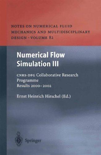 Download Numerical Flow Simulation III (Notes on Numerical Fluid Mechanics and Multidisciplinary Design) Pdf