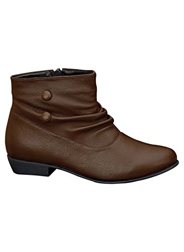 Lave Slouch Boots Mørk Brun
