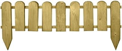Papillon 8044825 Bordo Madera Valla 9 Elementos 3.2 x 100 x 28, 3.2x100x 28/45 cm
