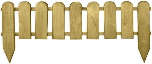 Oferta amazon: PAPILLON 8044825 Bordo Madera Valla 9 Elementos 3.2 x 100 x 28, 3.2x100x 28/45 cm