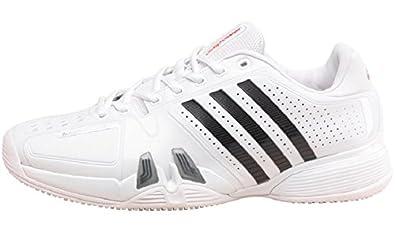 size 40 12d8f e5098 Adidas AdiPower Barricade Grass Tennisschuhe weißschwarzsilber,  SchuhgrößeEUR 46