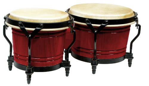 Rhythm Tech RT 5603 Eclipse Bongos-Red Wine ()