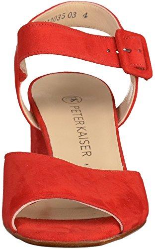 Peter Sandals 08703 Red Womens Kaiser BFBqR