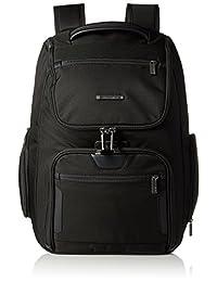 Briggs & Riley Atwork Large U Zip Backpack, Black, One Size