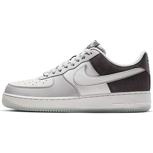 Nike Mens Air Force 1 07 LV8 2 Leather Textile Atmosphere Grey Vast Grey Trainers 9 US
