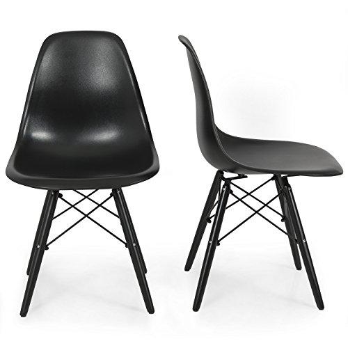 Belleze Molded Plastic Chairs Eiffel