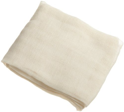 Unbleached Cheesecloth 9 Sq ft 100% Cotton Reusable-Mate for Cheese/Kombucha scoby/Wine Making/Glass (Nut Roasting Spices)