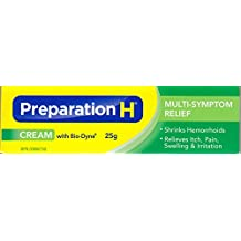 Preparation H Hemorrhoid Cream With Bio-Dyne Multi-Symptom 25g, Reduce Wrinkles