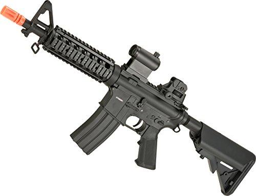 Evike CYMA Full Metal M4-CQB RIS Carbine Airsoft AEG (M4 Cqb Retractable Stock)