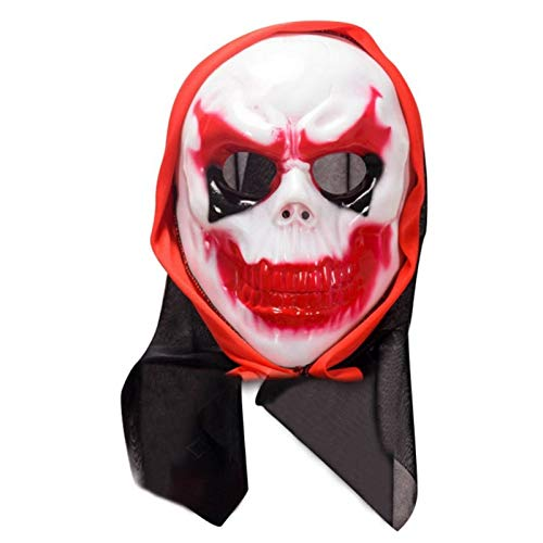 Weddings & Events - Funny Scary Halloween Mask Head Face Party Masks Latex Skull Fancy Dress Cosplay Costume Theater - Phones Sports Girls Electronics Case Events Computers Toys Beauty Heal ()