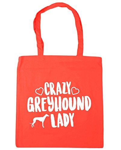 Borsa manici shopping Lady Borsa 10 Greyhound con Litri palestra da per X Crazy 38cm Hippowarehouse Capacit 42cm spiaggia UwtqBUz