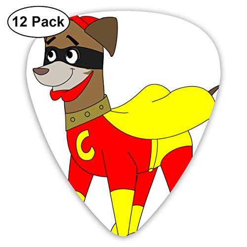 Halloween Cosplay Dog Small Medium Large 0.46 0.73 0.96mm Mini Flex Assortment Plastic Top Classic Rock Electric Acoustic Guitar Pick Accessories Variety Pack]()