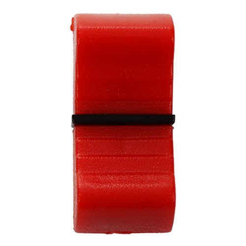 SODIAL(R) 5 Pcs Mixed Slider Fader Knobs 8mm Standard Fit Red -