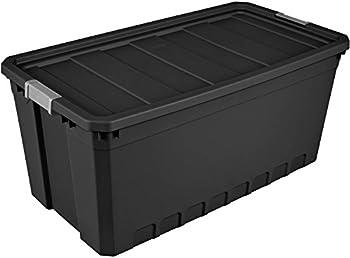 3 Pc.Sterilite Case 50 Gallon Durable Stacker Tote