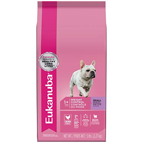 - Eukanuba Adult Small Breed Weight Control Dog Food 5 Pounds