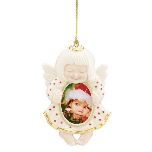 Lenox Angel Frame Ornament (Angel Frame Christmas Ornament)