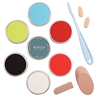 PanPastel PP30075 Ultra Soft Artists Painting Pastel Mix Media Set 1