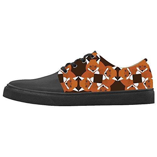 Dalliy Shoes Canvas Custom Scarpe Le Scarpe Le Le Women's Scarpe Fox FWrpI6F7