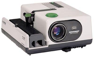Braun Diaprojektor Novamat E 150 inkl. Objektiv 2,8 / 85 mm MC