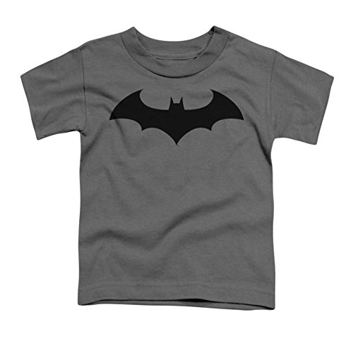 BATMAN/HUSH LOGO - S/S Toddler TEE - CHARCOAL - MD (3T)