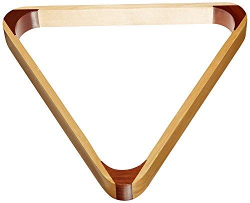 Imperial-BilliardPool-8-Ball-Rack-2-Tone-Hardwood-Triangle