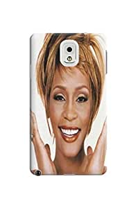 2014 Attractive pretty Whitney Houston fashionable Designed TPU Accessories Cover Case for SamSung Galaxy note3