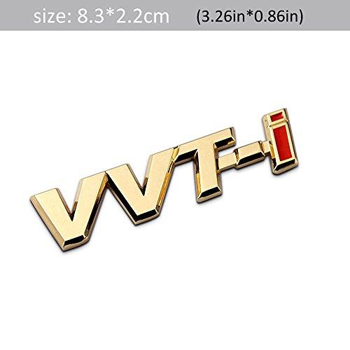 3D Metal VVT-I Car Side Fender Rear Trunk Emblem Badge Sticker Decals for Toyota Camry Lexus Is Es Rx by BENBW (Image #1)