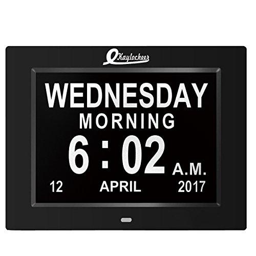 Digital Wall Clock Alarm Clock Kitchen Led Extra Large
