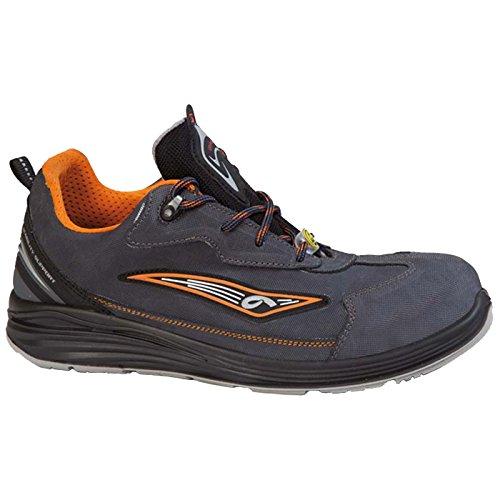 Giasco - Calzado de protección para hombre multicolor Multicoloured (schwarz/orange) 43 EU