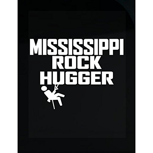 KewlCover Rock Hugger Rock Climbing Mississippi Rock Hugger - Sticker