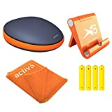 Activbody Activ5 Handheld Isometric Fitness Device (Fitness Package) with 4 x AAA Replacement Batteries - Value Bundle