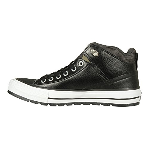 Converse Womens Boots (Converse Unisex Chuck Taylor All Star Street Boot, Black/Storm Wind, 7.5)