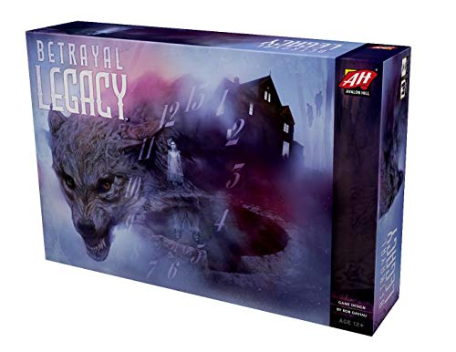 Avalon Hill Betrayal Legacy, Board Game (Best Games On Tabletop)