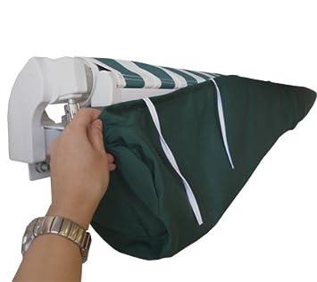 11ft 6u0026quot; Patio Awning Rain Cover / Storage Bag U2013 Plain Green