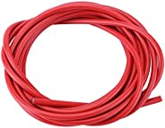 Bicycle Brake Cable, 3m Bike Shift Cable Housing Cycling Wires Pipe Set for Road MTB Bikes(Red)