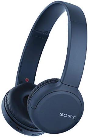[Gesponsert]Sony WH-CH510L kabellose Kopfhörer (kraftvoller Klang, eingebauter Sprachassistent, Quick Charge, bis zu 35 Stunden Akkulaufzeit) blau