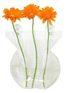 Made By Humans, Window Vase, Round, Plastic